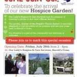 Garden Launch Poster