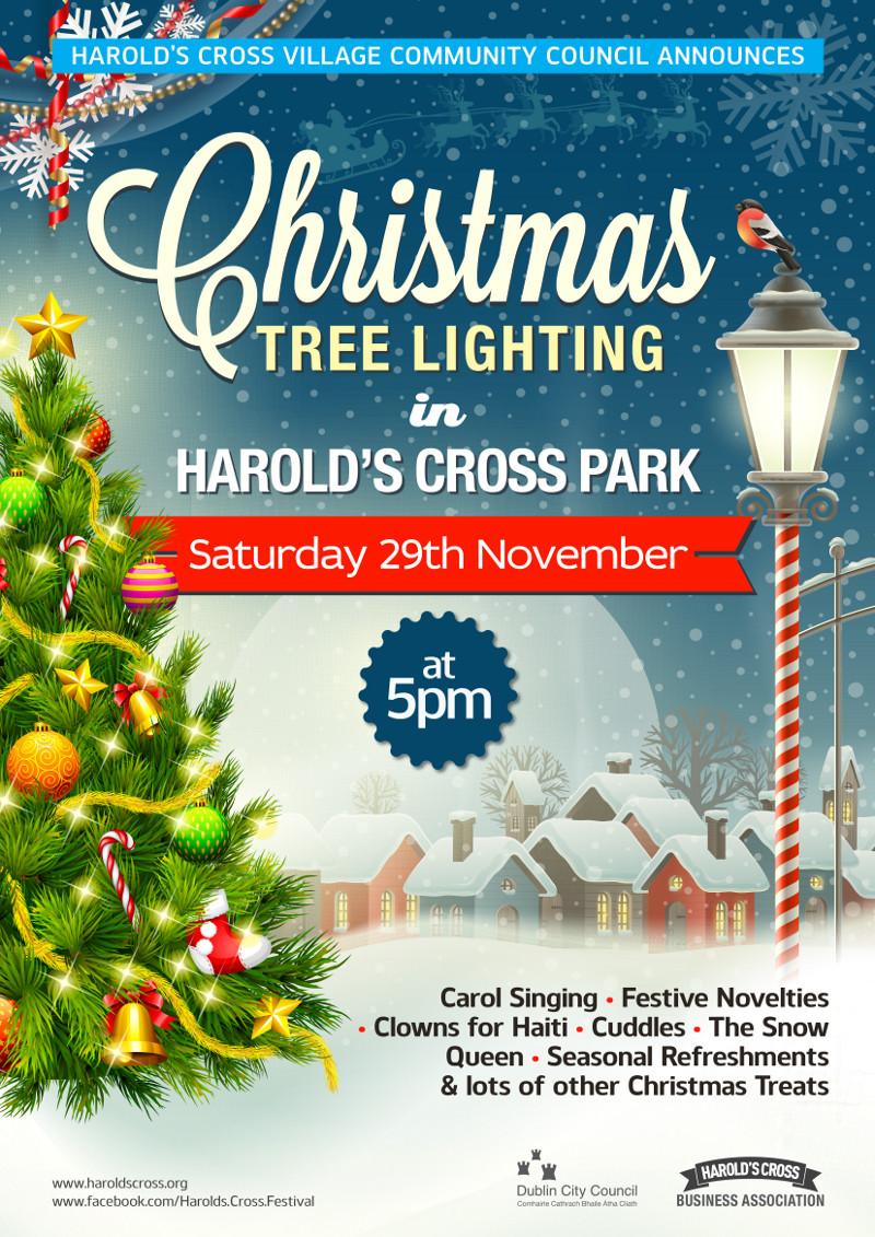 Harolds Cross Christmas Tree Lighting 2014