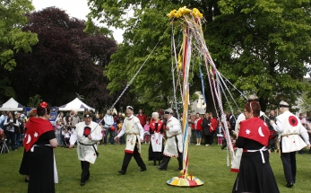 Maypole dance 2011