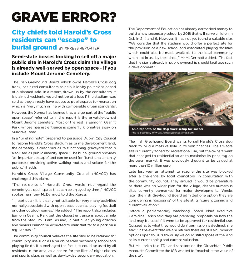 HX_Newsletter_spring - Grave error