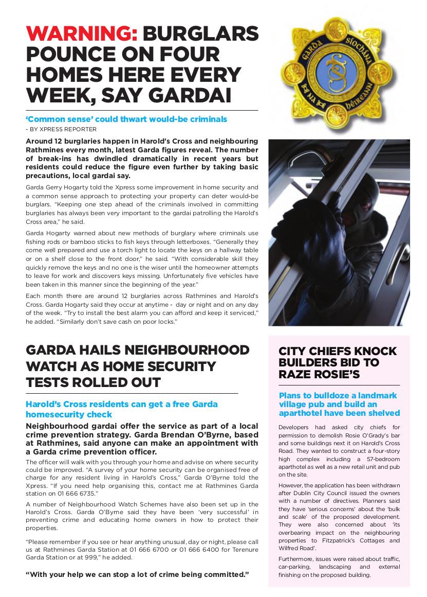 HX_Newsletter_spring - burglers