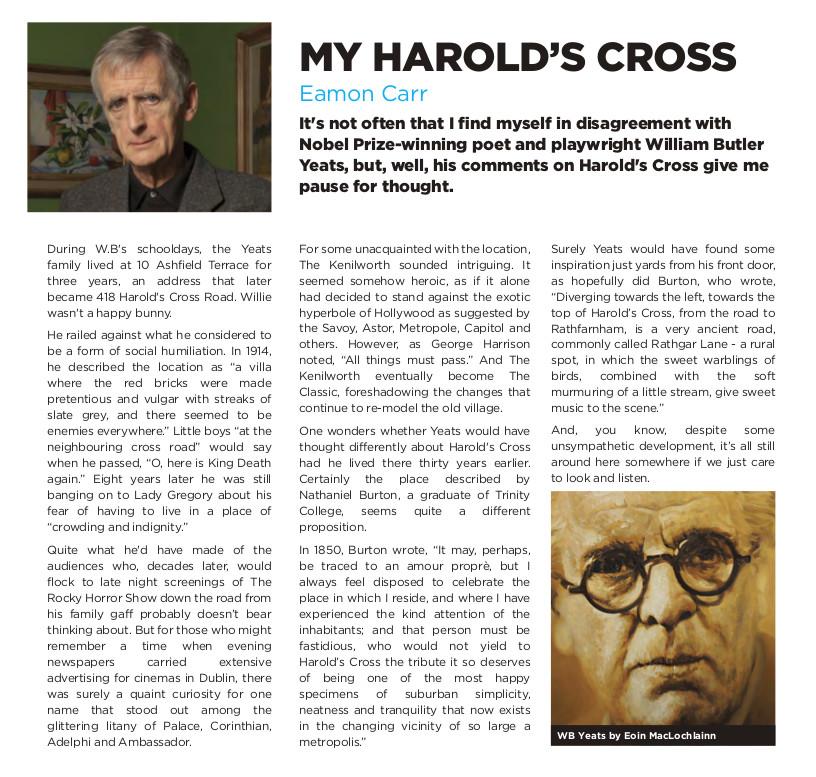 HX_Newsletter_spring - my harolds cross - eamonn carr