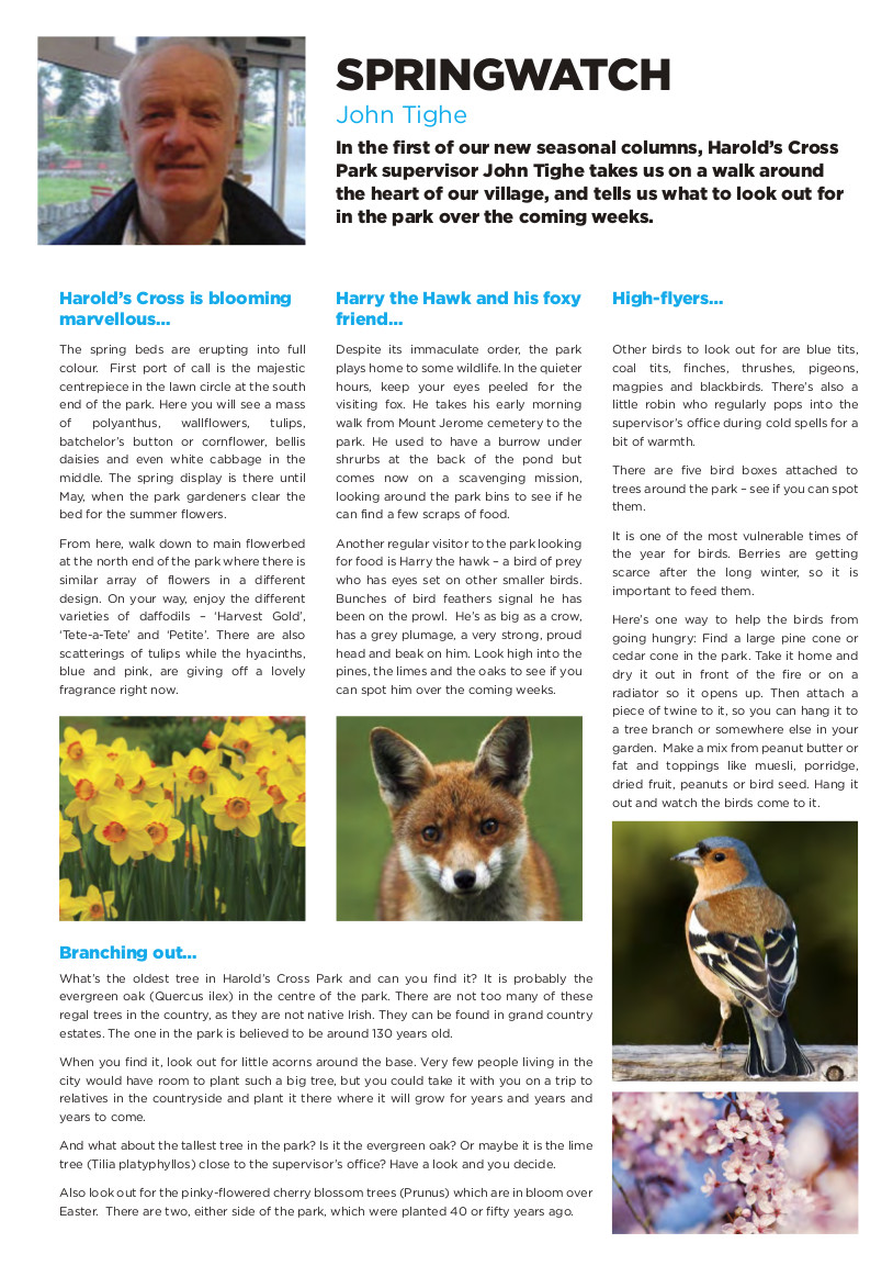 HX_Newsletter_spring- spring watch