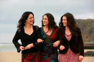 January 2010. THE HENRY GIRLS. Joleen, Lorna and Karen McLaughlin (Henry)