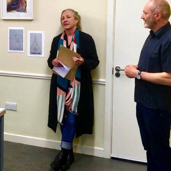 Ellen Cranitch and Eoin Mac Lochlainn