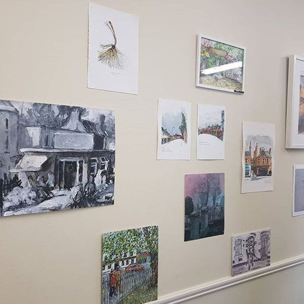 Sketches on the wall